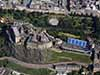 Edinburgh Castle aerial photo