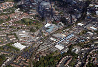 aerial photographs of sandwell