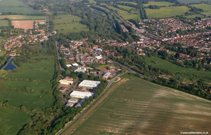 Hungerford aerial photograph
