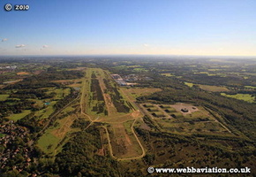 Greenham Common  aerial photograph