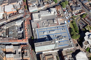 Broad Street Mall Shopping Centre  Reading  aerial photograph