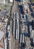 Reading railway station (formerly Reading General)  aerial photograph