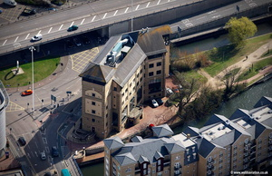 The Anchorage 34 Bridge Street Reading RG1 2LU aerial photograph