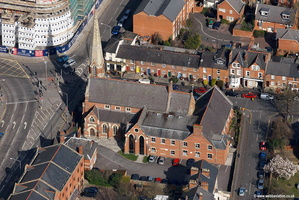 Wesley Methodist Church Reading  aerial photograph
