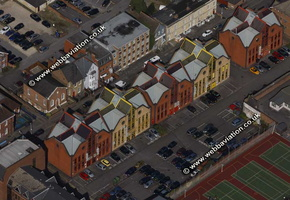 Southern Court    Reading   aerial view