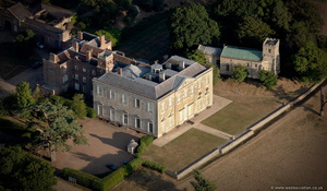 Claydon House Buckinghamshire aerial photograph