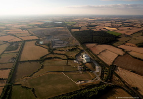 Greatmoor energy from waste facility, aerial photograph