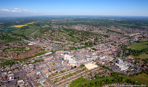 High Wycombe from the air