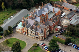 Bletchley Park  from the air