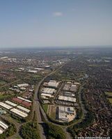 Clarendon Industrial Park, Wymbush, Milton Keynes, MK8  from the air