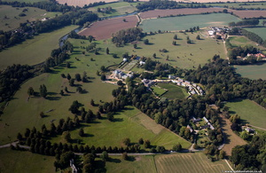 Tyringham from the air