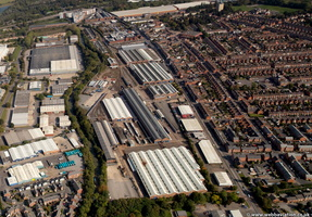 Knorr-Bremse Wolverton Works  from the air