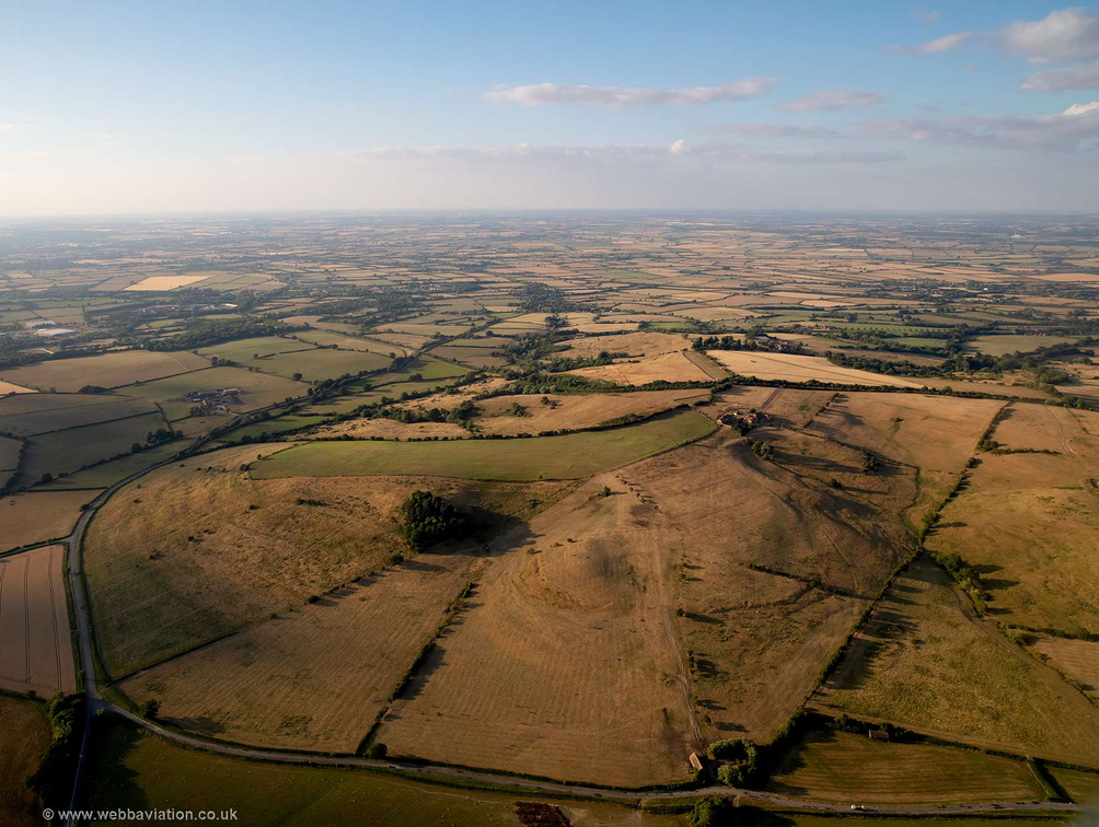 Muswell Hill, Buckinghamshire aerial photograph