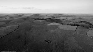 Bodmin Moor from the air