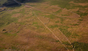 Rough Tor prehistoric settlement,  Bodmin Moor  from the air