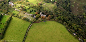 Calstock Roman Fort aerial photograph