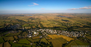 Camelford aerial photograph