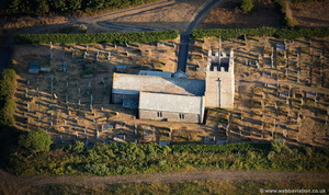 Forrabury Church aerial photograph
