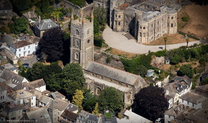 St Fimbarrus Church Fowey Cornwall