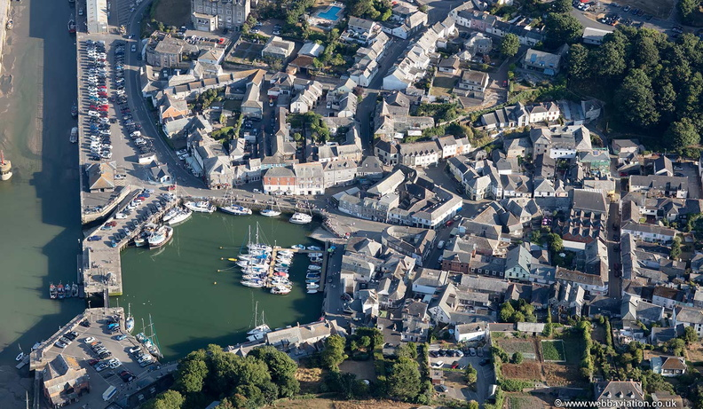 Padstow   from the air
