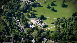 Port Eliot St Germans, Cornwall from the air