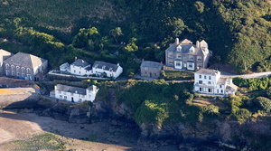 Port Isaac from the air