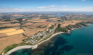 Portwrinkle Cornwall  aerial photograph