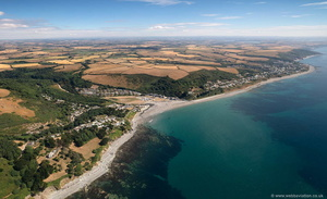 Seaton, Cornwall aerial photograph