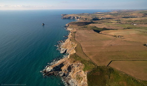 South West Coast Path  from the air