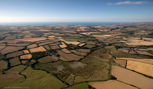 Walmsley Sanctuary Cornwall  from the air