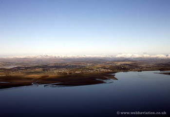 Grange-over-Sands in the Lake District Cumbria  aerial photograph