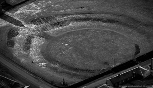 King Arthur's Round Table, Cumbria from the air