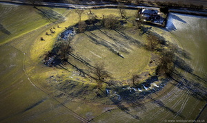 Mayburgh Henge Cumbria from the air