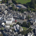 Windermere  Cumbria UK aerial photograph