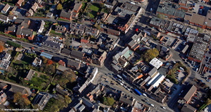 Alfreton, Derbyshire from the air