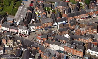 Ashbourne, Derbyshire from the air