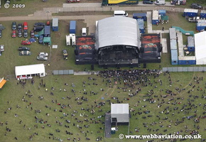 Bloodstock  Derbyshire  aerial photograph