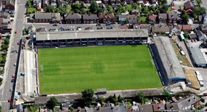 Saltergate Recreation Ground aerial photograph