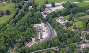 Cromford Derbyshire aerial photograph