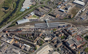 Derby station aerial photo