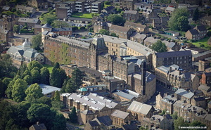 County Hall  Matlock Derbyshire  aerial photograph