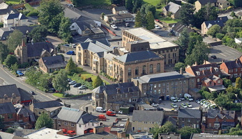 Matlock Town  Hall  aerial photograph