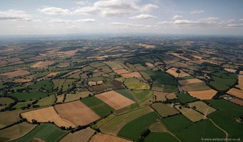 Devon Countryside from the air