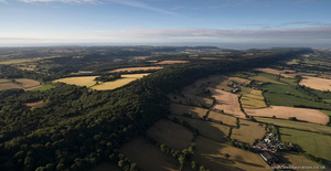 East Hill Devon from the air