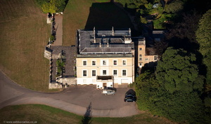 Escot House Devon from the air