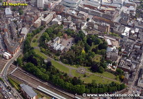 Exeter Devon aerial photograph