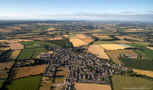 Feniton Devon from the air