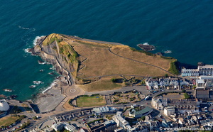 Capstone Hill Ilfracombe aerial photograph