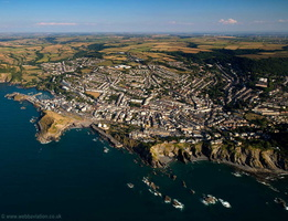 Ilfracombe  aerial photograph
