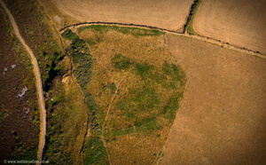 Martinhoe Roman Fortlet  aerial photograph